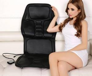 Wholesale reclining chair: 2016 Hot Sale Shiatsu Infrared Massage Cushion for Home and Car