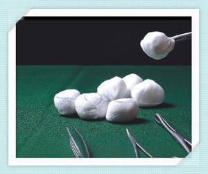 Wholesale Other Wound Dressing: Medical Consumables Sterile 100% Cotton Gauze Ball with Low Price
