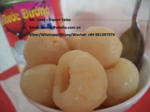 Wholesale canned lychee: Canned Lychee/ Lychee in Syrup