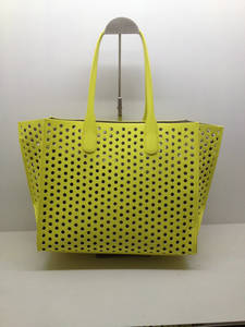 Wholesale pu handbag: Fashion Designer PU Leather Material Women Handbag Wholesale