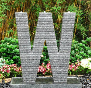 Wholesale Arts & Crafts Stocks: Letters Carved Stone Decoration Art