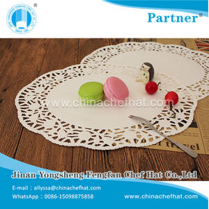 Wholesale Food Wrapping Paper: 6*9 Oval Shape Disposible Lace Paper Doily for Oil Absorption