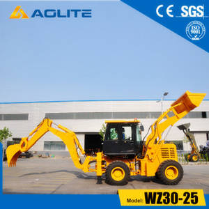 Wholesale backhoe: Chinese Factory Small Excavator Towable Backhoe Loader WZ30-25 for Sale