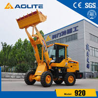 Wholesale Loaders: China Factory Low Price 1ton Small Wheel Loader 920 for Sale