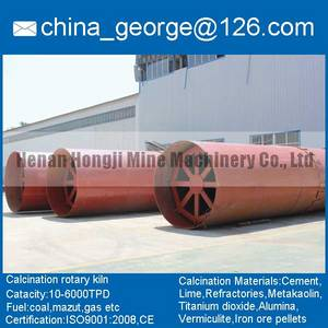Wholesale lime kiln: Large Capacity Hot Sale Active Lime Rotary Kiln Sold To Buxoro