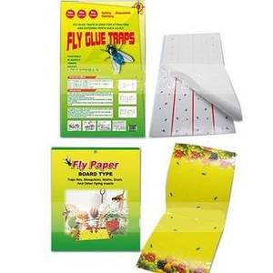 Wholesale insect trap: Fly Adhesive Glue Pest Glue Trps Insect GLUE Trap