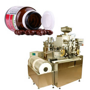 Wholesale soft capsule making machine: COQ10 Soft Capsule Production Line and Softgel Capsule Making Machine Small Encapsulation Machine