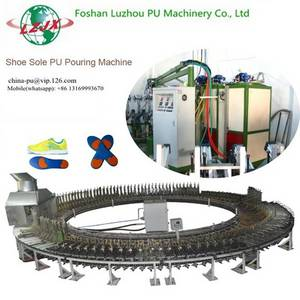 Wholesale pu product: Shoe Sole Automatic Production Equipment PU Pouring Machine