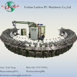 Wholesale insole machine: China Machinery Manufacturer PU Foaming Machine Shoe Sole Machine