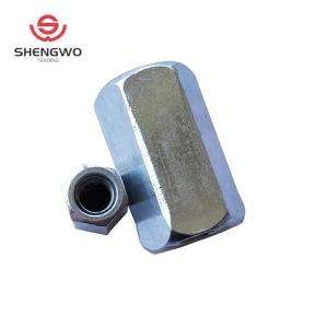 Wholesale carbon steel plate: Carbon Steel Hexagon Coupling Nut/Hex Connecting Nut with Zinc Plated DIN6334