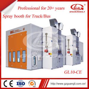 Wholesale downdraft spray booth: China Professional Factory Supply CE Approved Truck Body Spray Booth