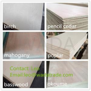 Wholesale plywood prices: 6mm Hardwood Plywood Board Price