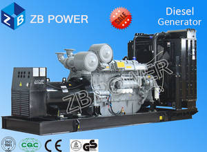 Wholesale genset: ISO/CE Approved 500KW Diesel Genset Powered by Cummins (ZB-500GF)