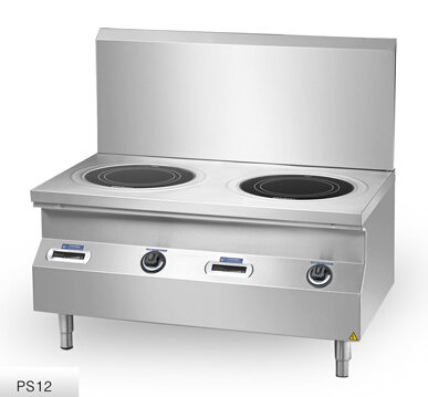 Chinducs Commercial 2-zone Induction Stockpot Range