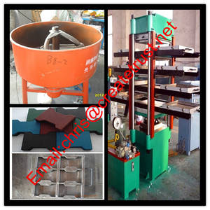 Wholesale Rubber Product Making Machinery: Rubber Tile Vulcanizing Press/Rubber Tile Making Machine/Rubber Tile Machine