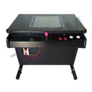 Wholesale arcade: Totem Retro Cocktail Table Arcade Game Machine for Christmas