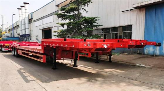 CIMC 2 Axle Low Loader for Sale in Madagascar