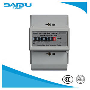 Wholesale electricity meter: Smart Din Rail Watt-Hour Three Phase Energy Meter/Electricity Meter