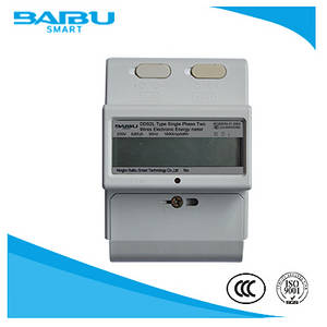 Wholesale kwh meter: Din Rail Kwh Energy Meter / Two Wire Active Energy Meter