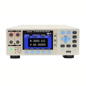 Wholesale Battery Testers: CKT3563 Internal Resistance Battery Tester with Measuring Range 0.1micro Ohm - 3k Ohm; 10micro V-60V