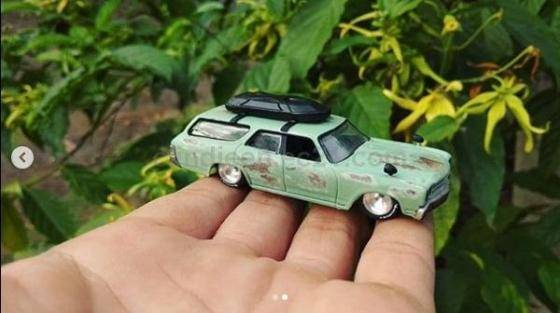 Sell Hotwheel Custom Chevelle Ss Wagon