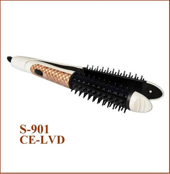 Sell Hair Straightener Hair Roller in 1 model 901