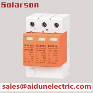 Wholesale pv inverter: 1500V DC SPD Surge Protective Device Surge Protector Type II 3P for Solar System