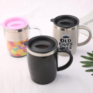 Wholesale sublimation mugs: Wholesale Sublimation Printable Mugs Blank Vacuum Insulated Stainless Steel Travel Mug with Lid