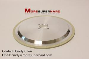 Wholesale taper reamer: 3A1 Ceramic Bonded Diamond Disc Type Superhard Material Grinding Wheel