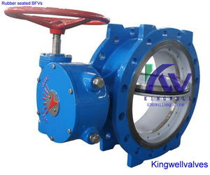 Wholesale resilient seated butterfly valve: Resilient Seated Eccentric Butterfly Valves