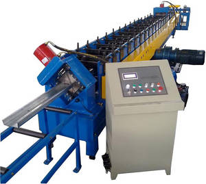 Wholesale Tile Making Machinery: Z Purlin Roll Forming Machine C Type Punching Hole Roll Forming Line