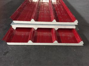 Wholesale sandwich bottom: Roofing or Wall Material PPGI Pre Painted Galvanized Steel Polyurethane PU Sandwich Panel