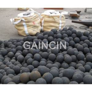 Wholesale grinding materials: B2 materials Forged Steel Grinding Media Balls