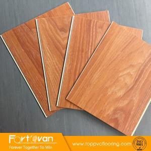 Wholesale pvc flooring: Wood Design Unilin Click System PVC Vinyl Flooring On Sale