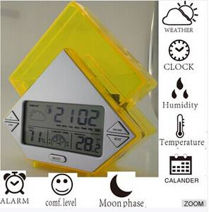 Wholesale weather station clock: Water Power Weather Station Clock