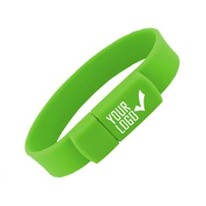 Wholesale usb flash drive wristband: Bulk Hot Selling Promo Bracelet Style Drive PVC Wristband Flash USB