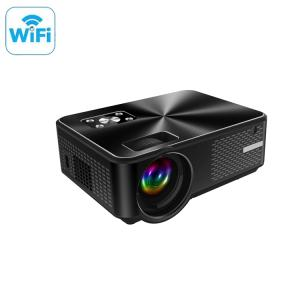 Wholesale video projector: Popular Full HD LED Wireless 2800 Lumens 1080p Supported Wifi Mini Video Projector for Home Cinema