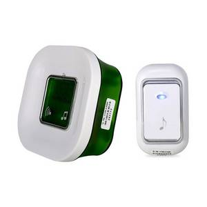 Wholesale Doorbells: AC Plug-in Wireless Indoor Doorbell Electric Digital Door Chime with Temperature Display