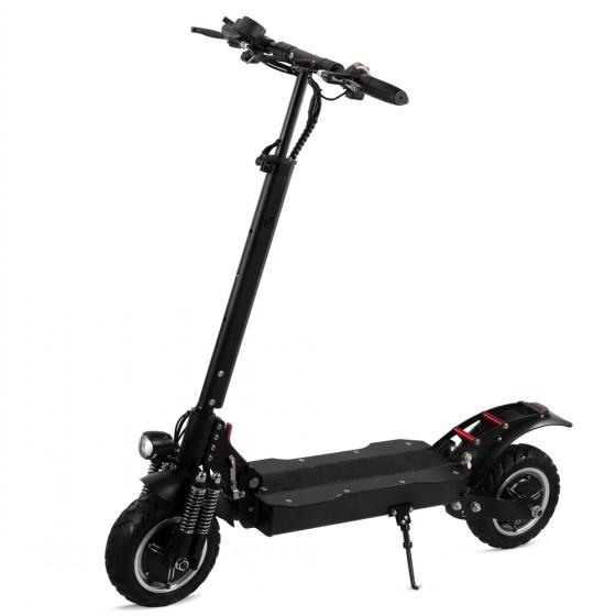 Dual Motor 3200W 52V 10 Inch Fat Tire Off Road Electric Scooter for Adults E Scooter