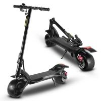 Customized Big Wide Wheel E Scooters Dual Motor Hub Motor Electric Scooter 1000w 2