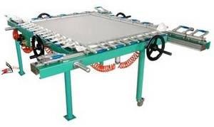 Wholesale double stretch: Pneumatic Screen Stretching Machine