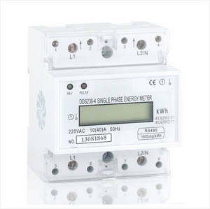 Wholesale rs485: Single Phase Din Rail Energy Meter, Type DDS238-4 RS485