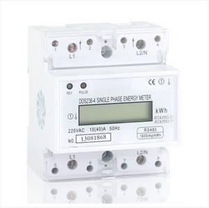 Wholesale Energy Meters: Single Phase Din Rail Energy Meter, Type DDS238-4 RS485