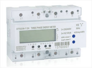 Wholesale phased: Three Phase Din Rail Multi-function Energy Meter, Type DT(S)S238-7 ZN