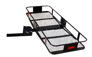 Wholesale folding basket: Folding Shank Hitch Mounted Cargo Carrier Basket