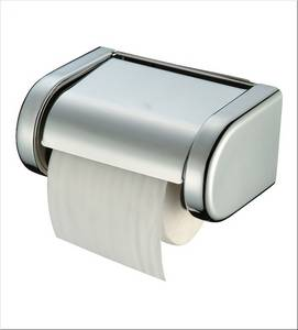 Wholesale bathroom accessories: European Style Chrome Bathroom Accessory Set Wholesale Toilet Paper Holder Without Lid