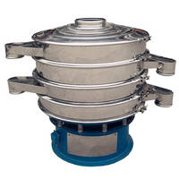 High Frequency Vibrating Screen NMC-1000-1S Circular Vibration Sieve Filter