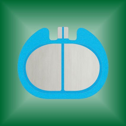 Electrosurgical Grounding Pad/Patient Plate