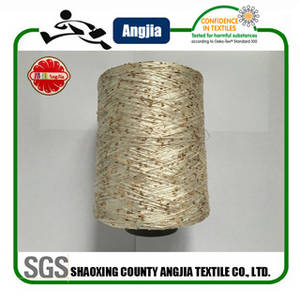 Wholesale knitted scarf: Polyester Sequin Knitting Yarn for Sweater Scarf