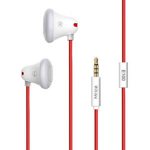 Wholesale earbud: E100 High Fidelity Stereo Earbuds in-Ear Headphones for Smartphone